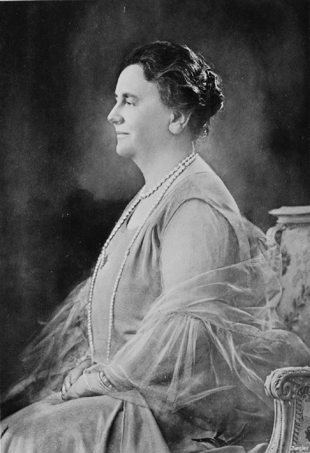 Queen Wilhelmina of the Netherlands, queen regnant of the Kingdom of the Netherlands from 1890 to 1948 (1942)